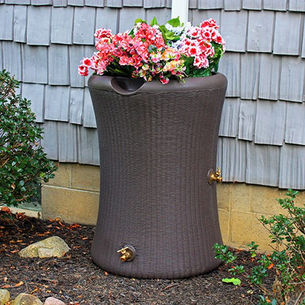 Impressions Willow 65 Gallon Rain Barrel