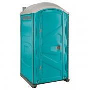PJP3 All Plastic Front Portable Toilet aqua