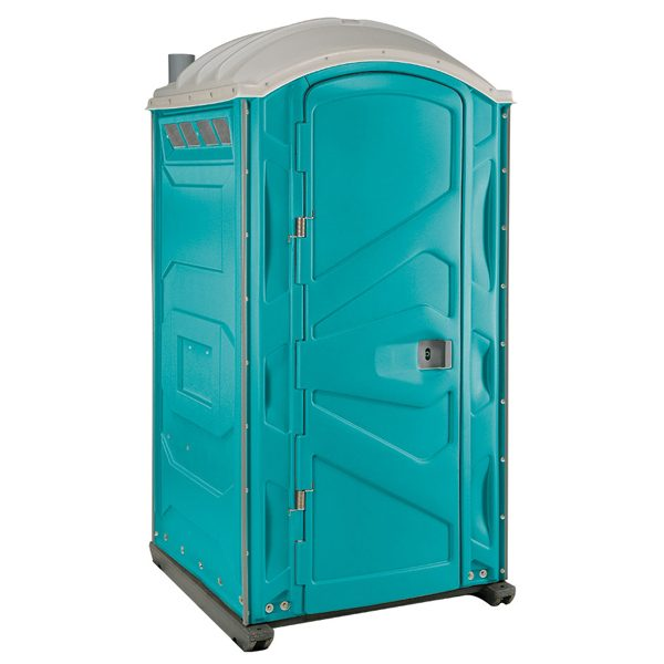 PJP3 All Plastic Front Portable Toilet Aqua
