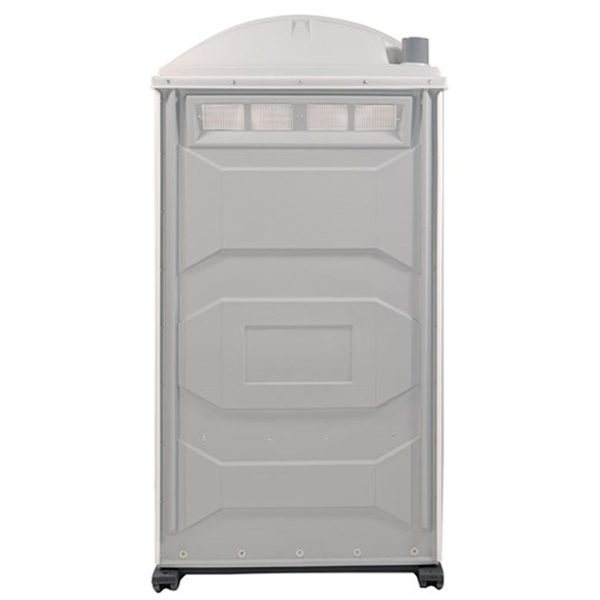 PJP3 All Plastic Front Portable Toilet back