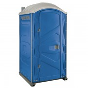 PJP3 All Plastic Front Portable Toilet blue