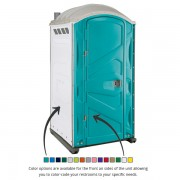 PJP3 All Plastic Front Portable Toilet color options