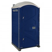 PJP3 All Plastic Front Portable Toilet dark blue