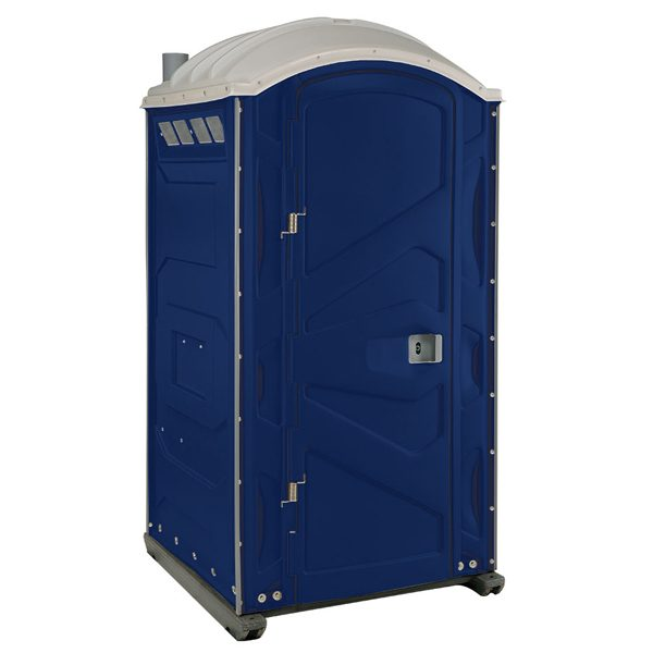 PJP3 All Plastic Front Portable Toilet Dark Blue