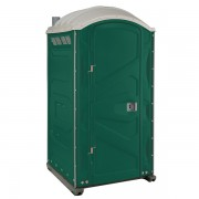 PJP3 All Plastic Front Portable Toilet evergreen