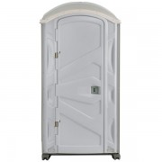 PJP3 All Plastic Front Portable Toilet front