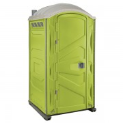 PJP3 All Plastic Front Portable Toilet lime