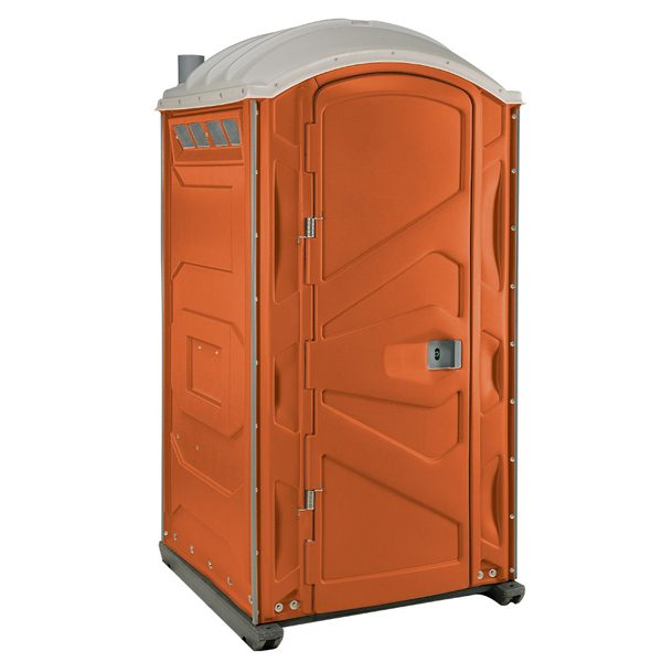 PJP3 All Plastic Front Portable Toilet Orange