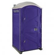 PJP3 All Plastic Front Portable Toilet purple