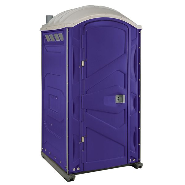 PJP3 All Plastic Front Portable Toilet Purple