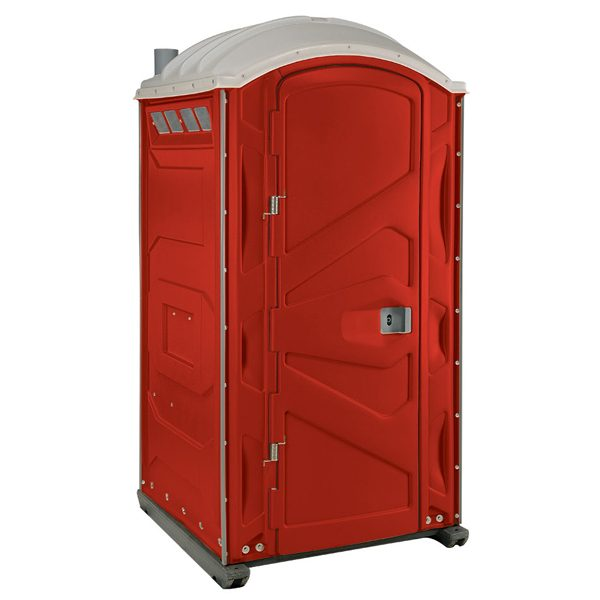 PJP3 All Plastic Front Portable Toilet Red