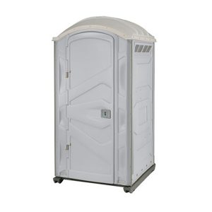 PJP3 All Plastic Front Portable Toilet side