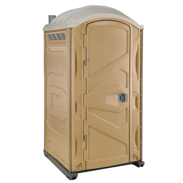 PJP3 All Plastic Front Portable Toilet Tan