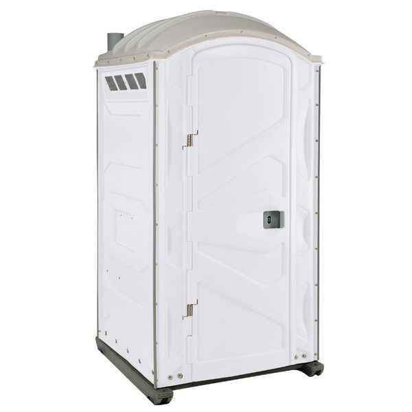 PJP3 All Plastic Front Portable Toilet White