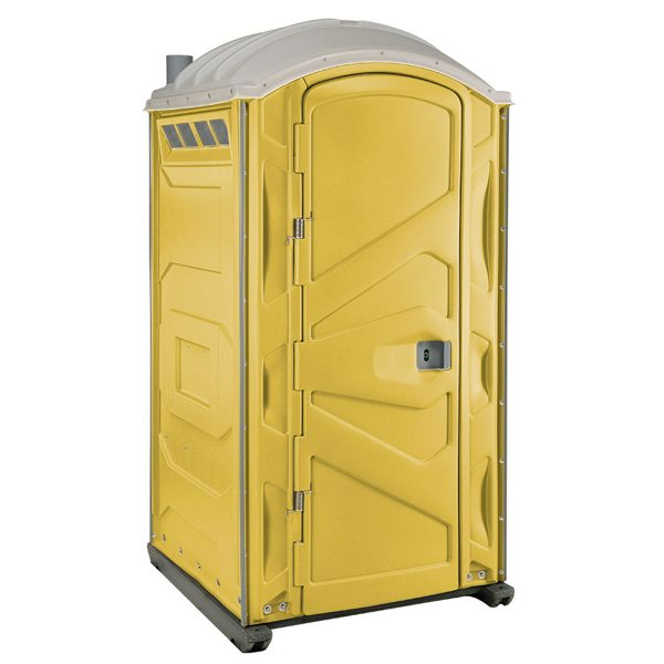 PJP3 All Plastic Front Portable Toilet Yellow