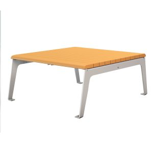 plaza recycled plastic table 42in