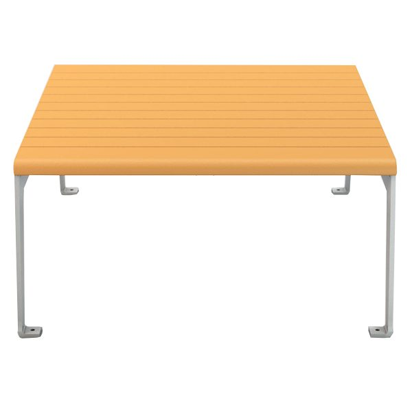 plaza recycled plastic table side