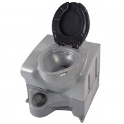 portable mini flush toilet front