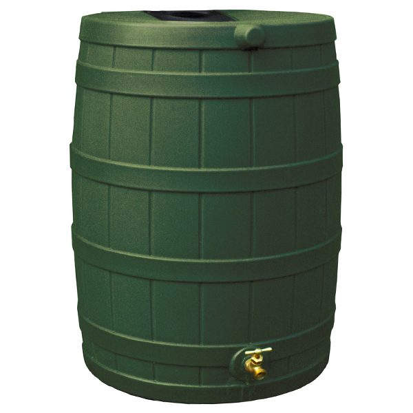 Rain Wizard 40 Gallon Rain Barrel green