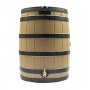 Rain Wizard 40 Gallon Rain Barrel khaki ribs