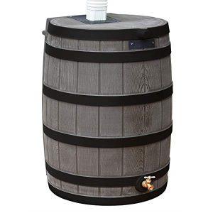 Rain Wizard 40 Gallon Rain Barrel oak ribs
