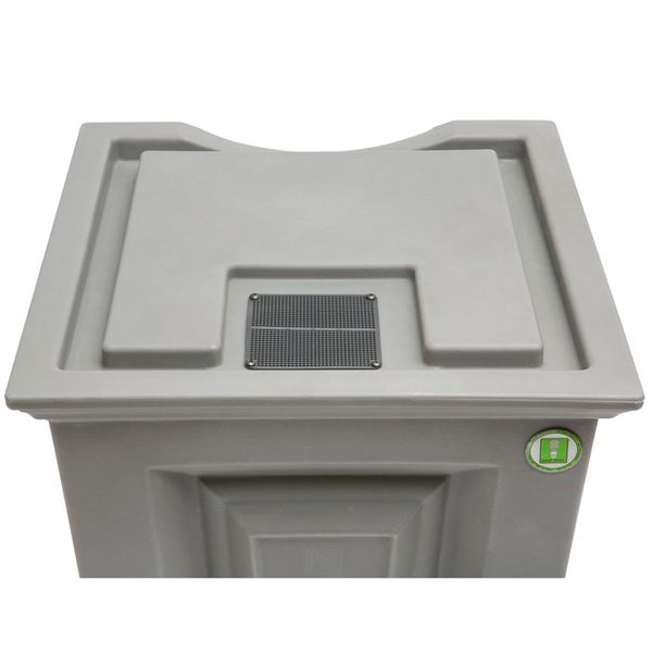 Savannah Flat Top Rain Barrel top back