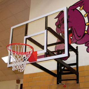 Adjustable Wall Mount Basketball Set