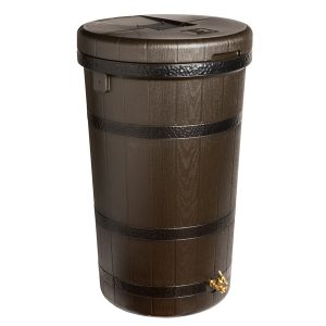 Aspen ECO 50 Gallon Rain Barrel Dark Ribs