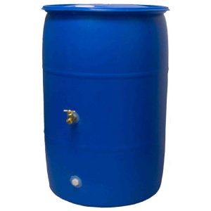 Big Blue 55 Gallon Rain Barrel