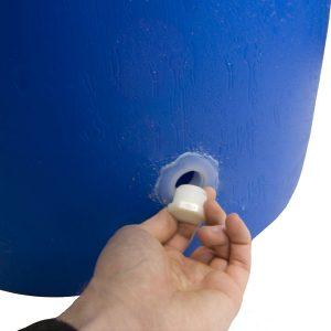 Big Blue 55 Gallon Rain Barrel Plug