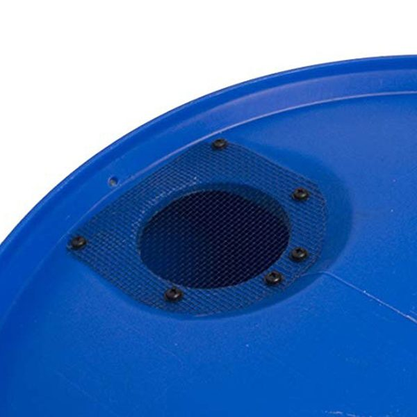 Big Blue 55 Gallon Rain Barrel Top