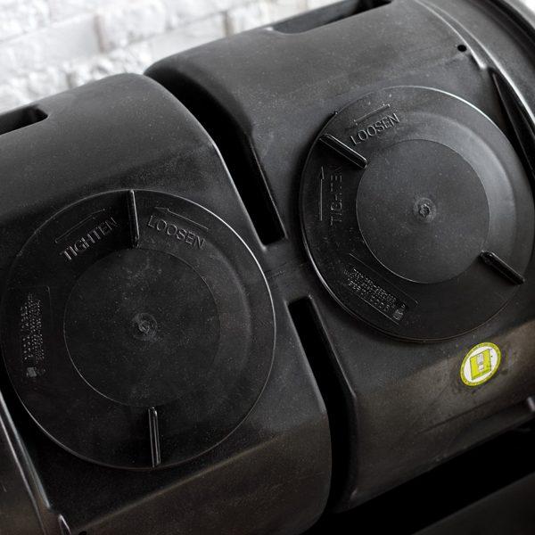 Compost Wizard Dual Senior Kit lids
