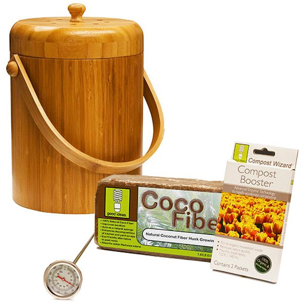 Compost Wizard Essentials Kit Bamboo
