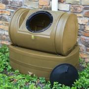 Compost Wizard Hybrid Composter & Rain Barrel khaki