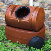 Compost Wizard Hybrid Composter & Rain Barrel terra cotta