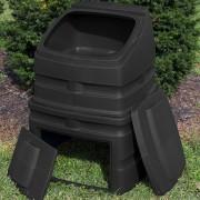 compost wizard standing bin unit