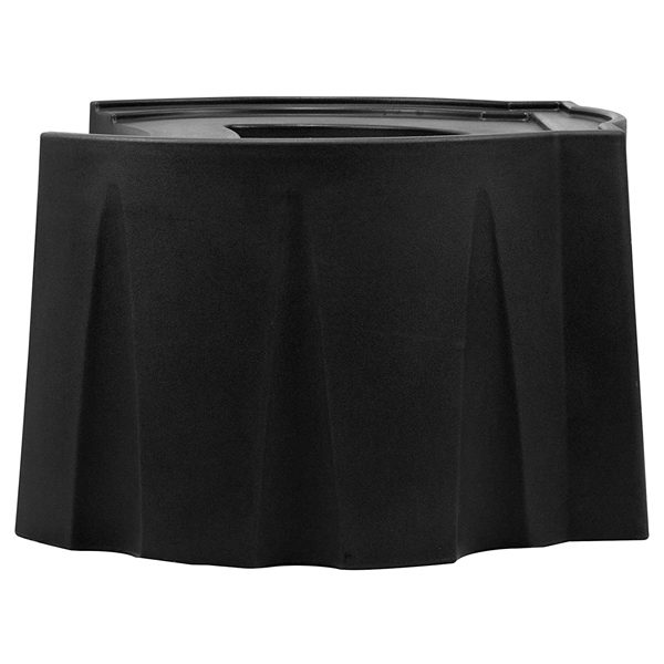 rain barrel universal stand black side