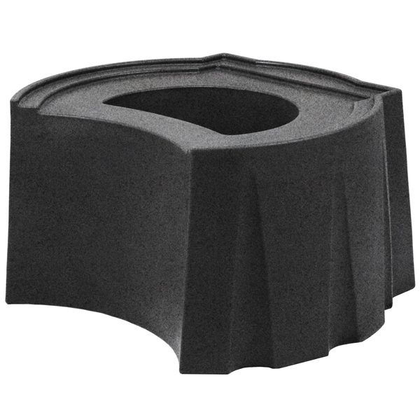 Rain Barrel Universal Stand Dark Granite
