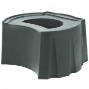 Rain Barrel Universal Stand gray