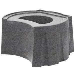 Rain Barrel Universal Stand Light Granite
