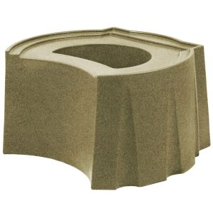 Rain Barrel Universal Stand Sandstone