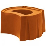 Rain Barrel Universal Stand terra cotta