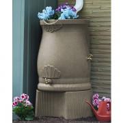 Rain Barrel Urn Stand spigots