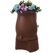 Rain Wizard 50 Gallon Urn Rain Barrel stand