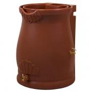 Rain Wizard 50 Gallon Urn Rain Barrel terra cotta