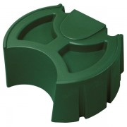 Rain Wizard 50 Rain Barrel Stand green