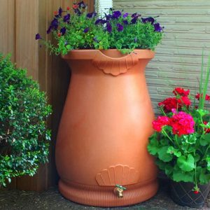 Rain Wizard 65 Gallon Urn Rain Barrel