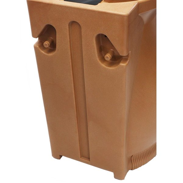 Rain Wizard 65 Gallon Urn Rain Barrel Back