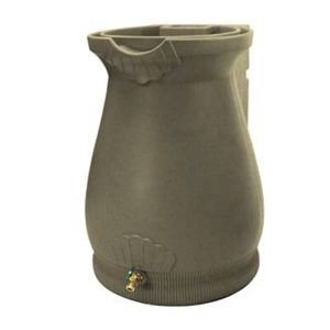 Rain Wizard 65 Gallon Urn Rain Barrel Sandstone