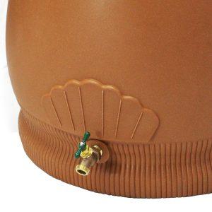 Rain Wizard 65 Gallon Urn Rain Barrel Spigot